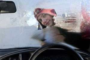 snow windscreen